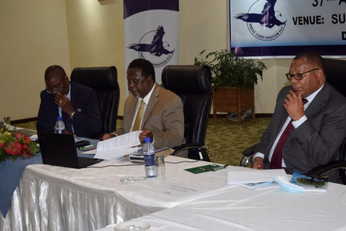 PCL HOLDS VIRTUAL AGM: Gives shareholders K3.7 billion