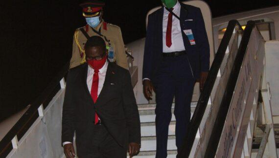 A Very Warm Welcome to London Mr President Rev Lazarus McCarthy Chakwera