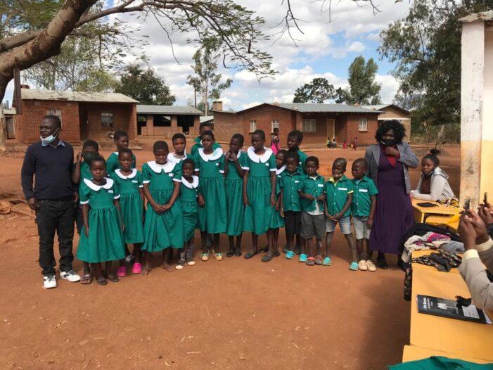 Umodzi Donates Uniforms to Likulu Primary School