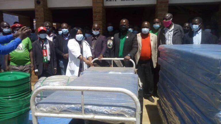 MCP's Joshua Malango Donates to Kaphuka Health Centre