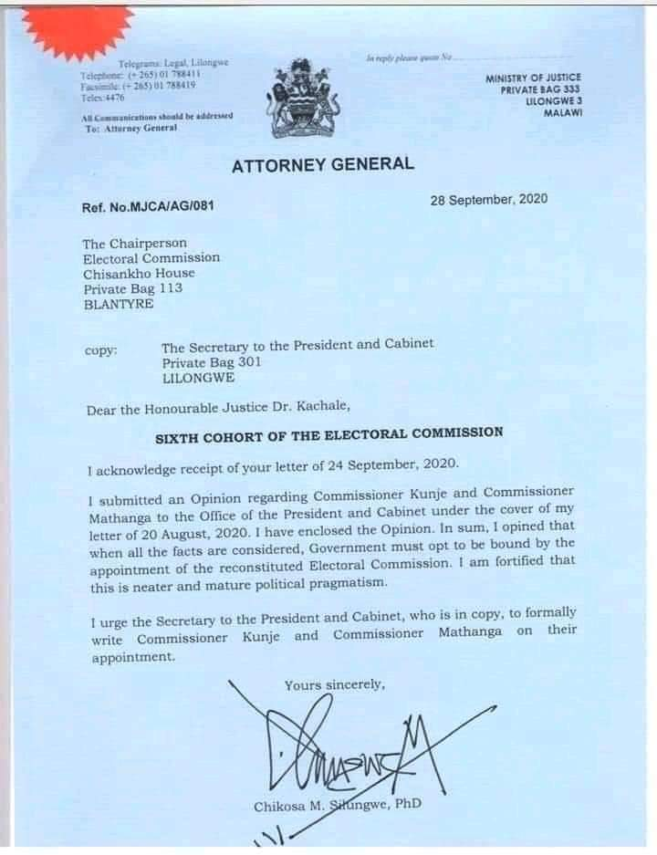 ELECTIONS NULLIFICATION CASE: Chakwera has woken up confused and surprised