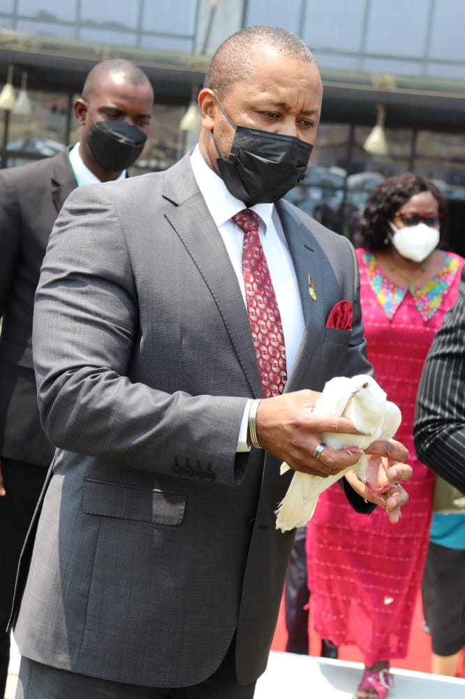 VP CHILIMA GRACES INTERNATIONAL DAY OF PEACE: Calls for peace to reign in Malawi
