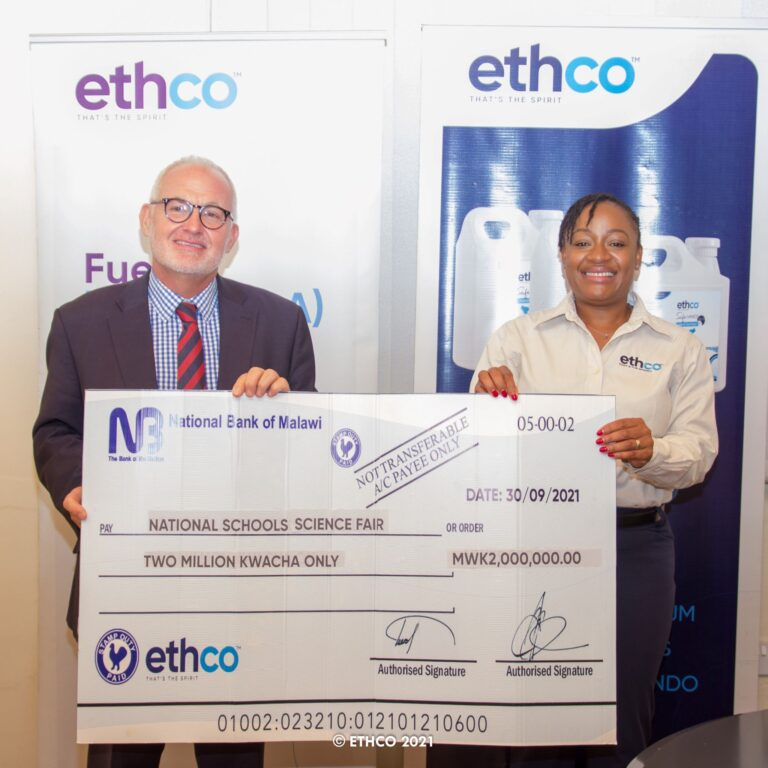 EthCo supports science fair with K2 million